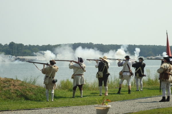 Battle of Cricket Hill Reenactment