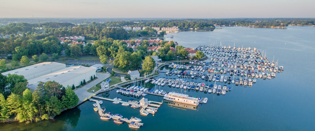 Aerial View of Morningstar Marinas Kings Point