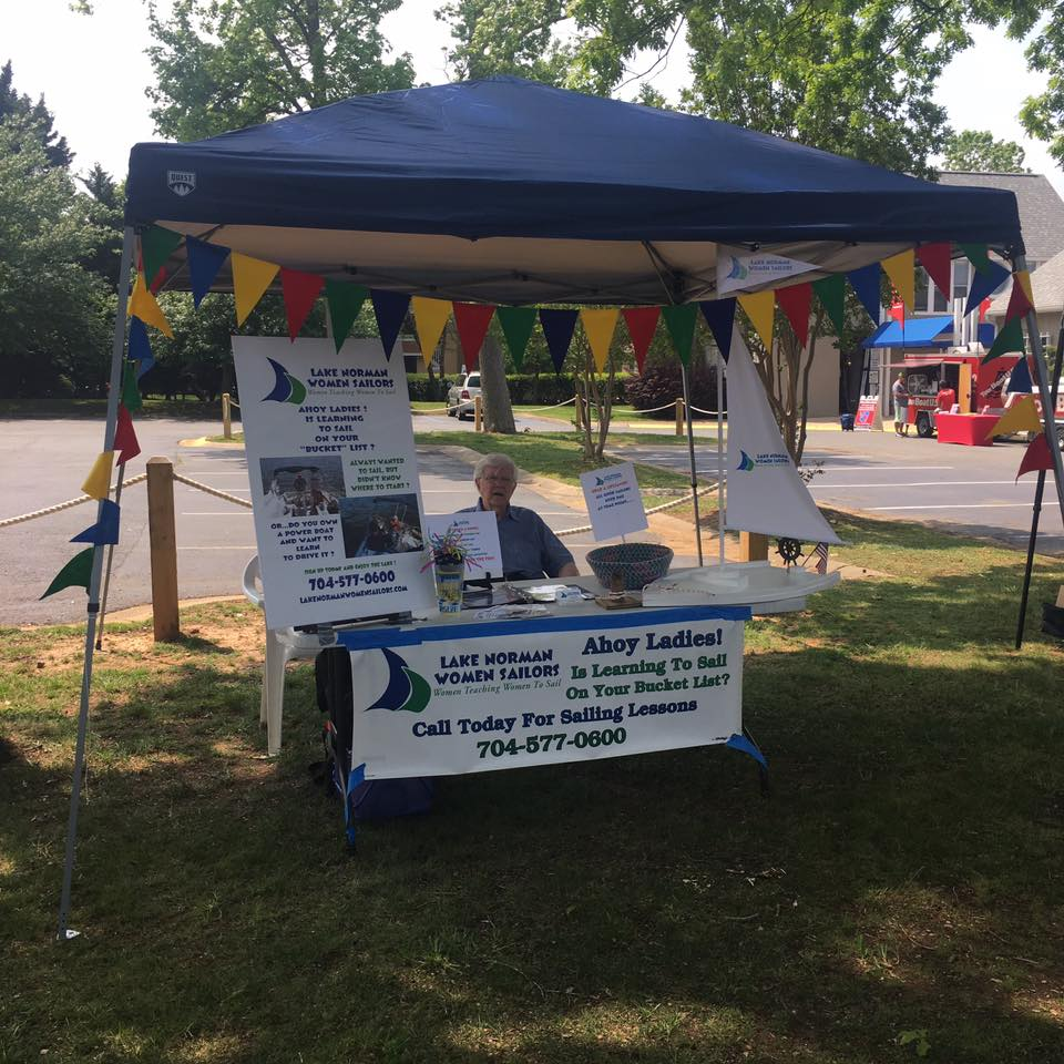 Booth at Kings Point Boating Festival