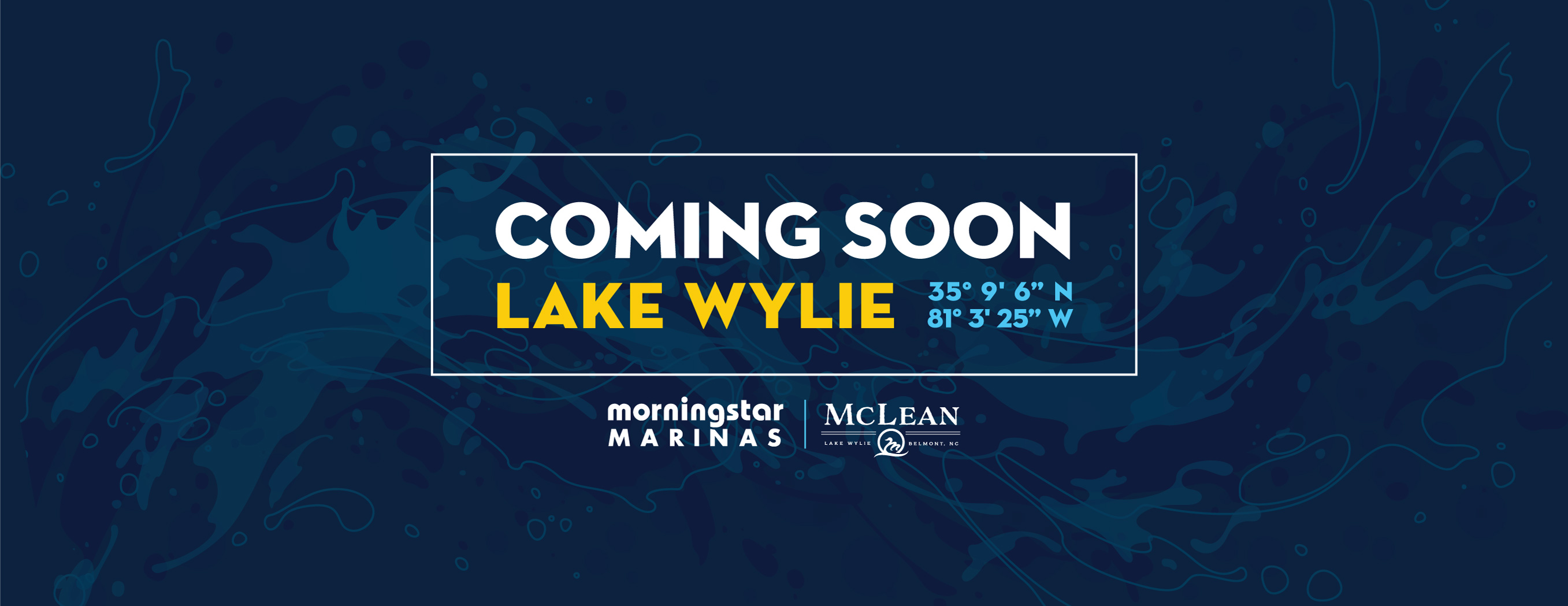Morningstar Marinas Coming Soon to Lake Wylie